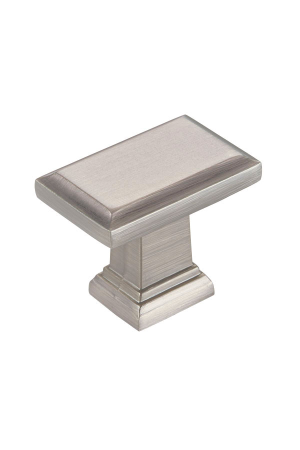 Contemporary Cabinet Knob In Brushed Nickel Kitchen Craft