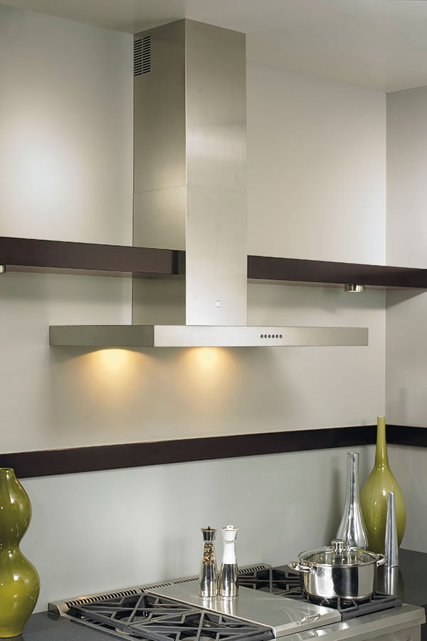 how to clean electrolux gallery range hood