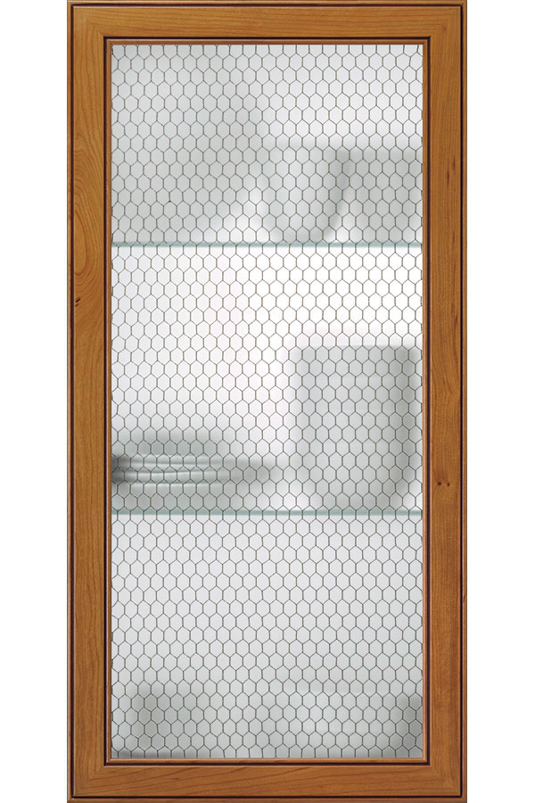 Honeycomb Wire Mesh Cabinet Door Kitchen Craft