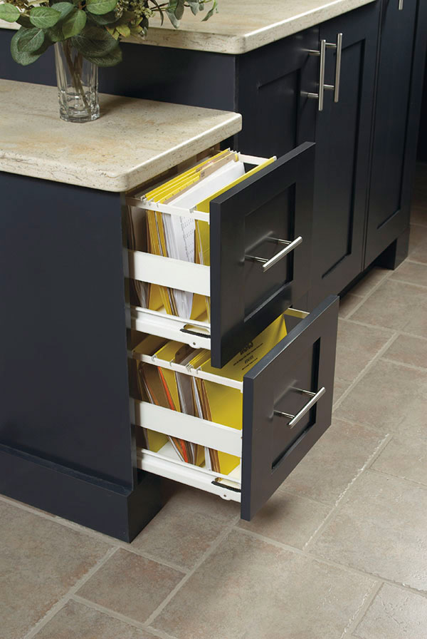 File Drawer Kitchen Craft Cabinetry