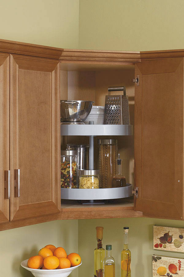 Lazy susan cabinet kitchen craft cabinetry - Lazy susan kitchen cabinets ...
