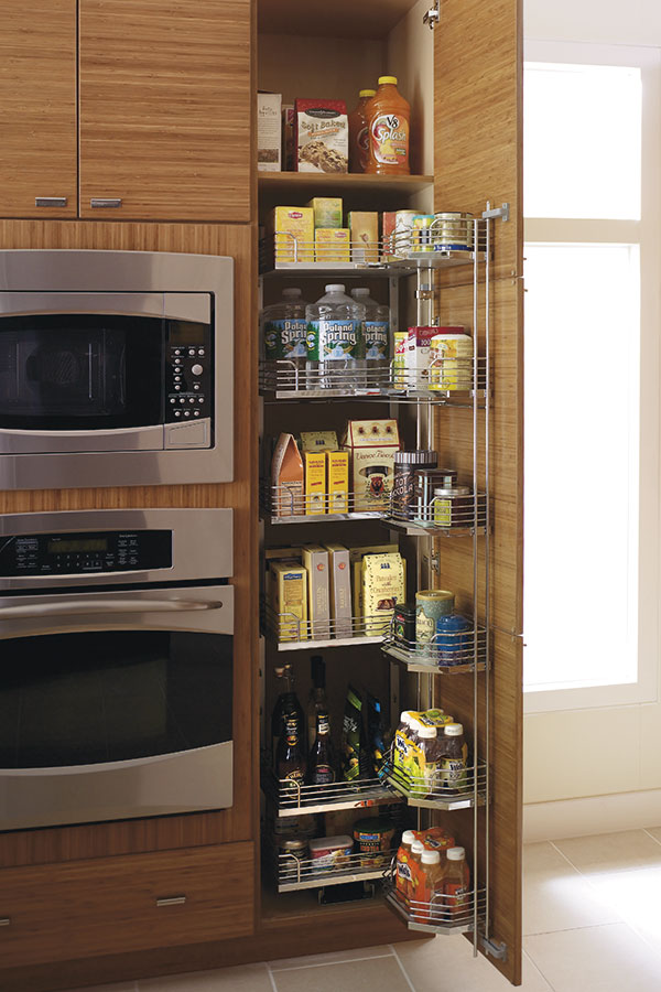 Tall Pantry Pull Out Tandem Cabinet Kitchen Craft