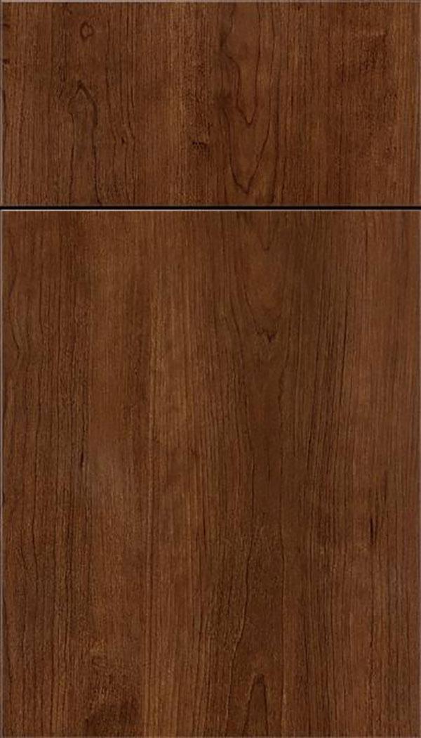 Woodgrain black bean thermofoil finish kitchen craft for Wood grain kitchen doors