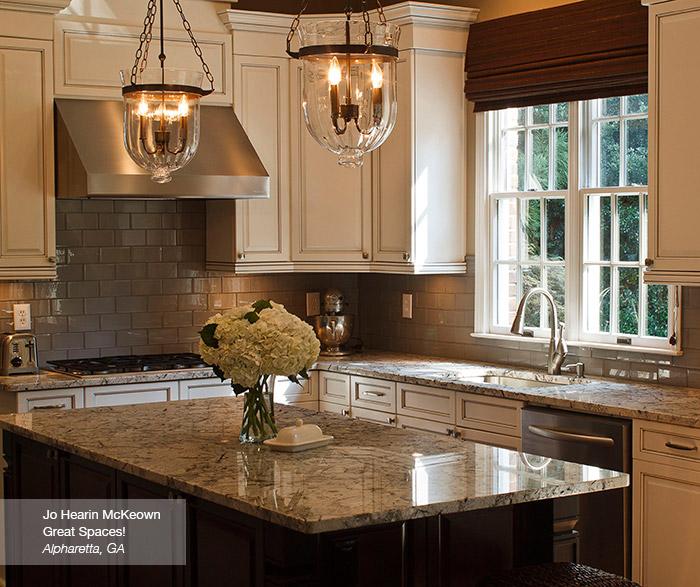 Alabaster Pewter Glazed Cabinet Finish Kitchen Craft
