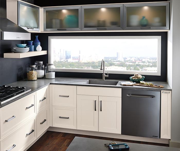 Photo Of Kitchen Craft Paloma Alabaster White Cabinets