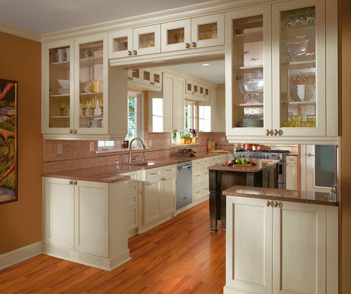 Wood Cabinet Designs Kitchen Craft Cabinetry
